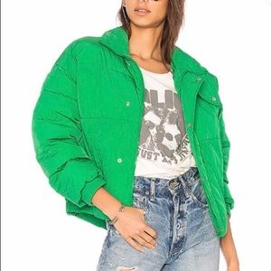 nwt // free people cold rush puffer jacket